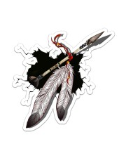 NDGBVD5820 Native Feather Crack St Sticker - Single (Vertical) front