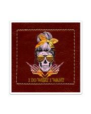Skull I Do What I Want Sticker - Single (Vertical) thumbnail