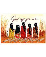 Native God Horizontal Poster tile