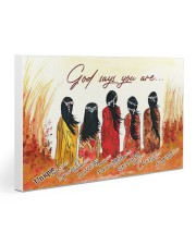 Native God 30x20 Gallery Wrapped Canvas Prints front