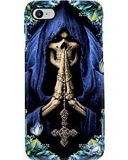 Skull Faith Phone Case i-phone-8-case