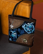 Love Turtle Ocean Animal For Turtle Lovers All-over Tote aos-all-over-tote-lifestyle-front-02