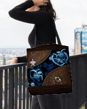 Love Turtle Ocean Animal For Turtle Lovers All-over Tote aos-all-over-tote-lifestyle-front-05