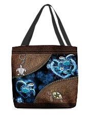 Love Turtle Ocean Animal For Turtle Lovers All-over Tote front