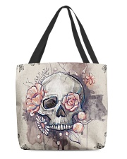 Skull All-over Tote  All-over Tote back
