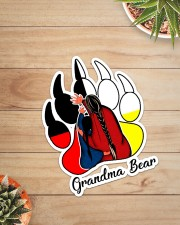 Native - Grandma Bear  Sticker - Single (Vertical) aos-sticker-single-vertical-lifestyle-front-07