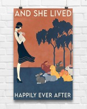 Rabbit Happily Ever After For Rabbit Lovers  11x17 Poster aos-poster-portrait-11x17-lifestyle-17
