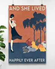 Rabbit Happily Ever After For Rabbit Lovers  11x17 Poster aos-poster-portrait-11x17-lifestyle-19