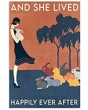 Rabbit Happily Ever After For Rabbit Lovers  11x17 Poster front