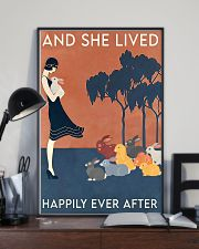 Rabbit Happily Ever After For Rabbit Lovers  11x17 Poster lifestyle-poster-2