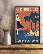 Rabbit Happily Ever After For Rabbit Lovers  11x17 Poster lifestyle-poster-3