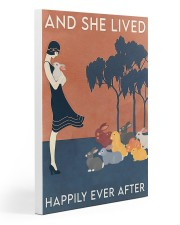 Rabbit Happily Ever After For Rabbit Lovers  Gallery Wrapped Canvas Prints tile