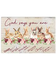 Lovely Rabbit Good Say You Are 17x11 Poster front