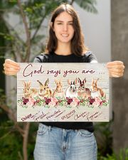 Lovely Rabbit Good Say You Are 17x11 Poster poster-landscape-17x11-lifestyle-19