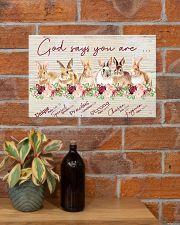 Lovely Rabbit Good Say You Are 17x11 Poster poster-landscape-17x11-lifestyle-23
