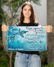 Custom Name Turtle Once Upon A time 17x11 Poster poster-landscape-17x11-lifestyle-19
