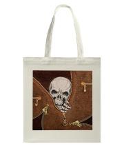 Skull Leather Tote Bag tile