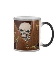 Skull Leather Color Changing Mug tile