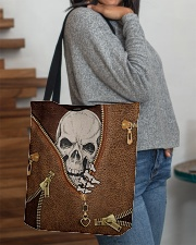 Skull Leather All-over Tote aos-all-over-tote-lifestyle-front-09