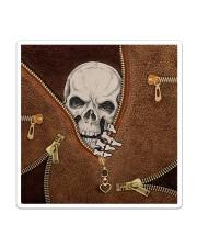 Skull Leather Sticker tile