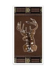 Deer Huntinng Leather Like  Sticker tile