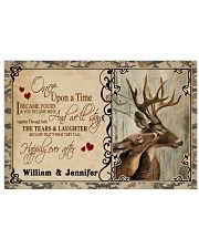 Custom Name Buck And Doe Once Upon A Time 17x11 Poster front