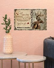 Custom Name Buck And Doe Once Upon A Time 17x11 Poster poster-landscape-17x11-lifestyle-21