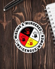 Native American Mising And Mudered Sticker Sticker - Single (Vertical) aos-sticker-single-vertical-lifestyle-front-05