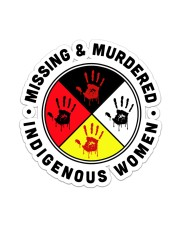 Native American Mising And Mudered Sticker Sticker - Single (Vertical) front