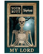 Skeleton Your Butt Napkins My Lord 11x17 Poster front