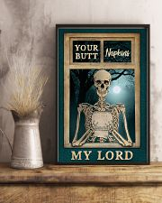 Skeleton Your Butt Napkins My Lord 11x17 Poster lifestyle-poster-3