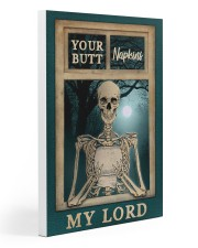 Skeleton Your Butt Napkins My Lord 20x30 Gallery Wrapped Canvas Prints thumbnail