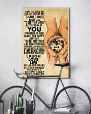 Custom Name Autism Today Is A Good Day   11x17 Poster lifestyle-poster-7