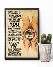 Custom Name Autism Today Is A Good Day   11x17 Poster lifestyle-poster-8
