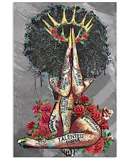 Black Queen With Roses 11x17 Poster front