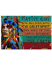 Native - Native Girl 17x11 Poster front