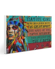 Native - Native Girl Gallery Wrapped Canvas Prints tile