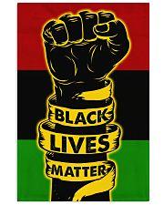 Black - Black Lives Matter Flag Vertical Poster tile