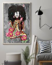Black Breast Cancer 11x17 Poster lifestyle-poster-1