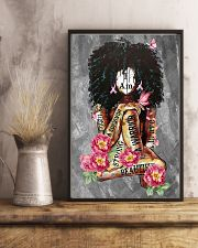 Black Breast Cancer 11x17 Poster lifestyle-poster-3