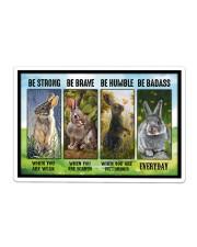 Rabbit - Be Strong  Sticker - Single (Horizontal) thumbnail