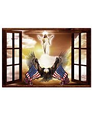 God Bless America Eagle 17x11 Poster front
