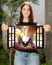 God Bless America Eagle 17x11 Poster poster-landscape-17x11-lifestyle-19