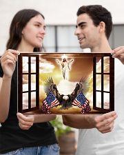 God Bless America Eagle 17x11 Poster poster-landscape-17x11-lifestyle-20