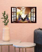 God Bless America Eagle 17x11 Poster poster-landscape-17x11-lifestyle-21