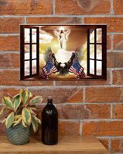 God Bless America Eagle 17x11 Poster poster-landscape-17x11-lifestyle-23