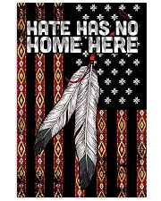 Native - Hate Has No Home Here Flag Vertical Poster tile