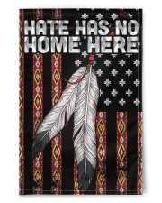 """Native - Hate Has No Home Here Flag 11.5""""x17.5"""" Garden Flag front"""