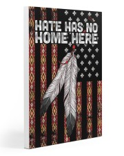 Native - Hate Has No Home Here Flag Gallery Wrapped Canvas Prints tile