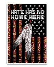 Native - Hate Has No Home Here Flag Sticker tile